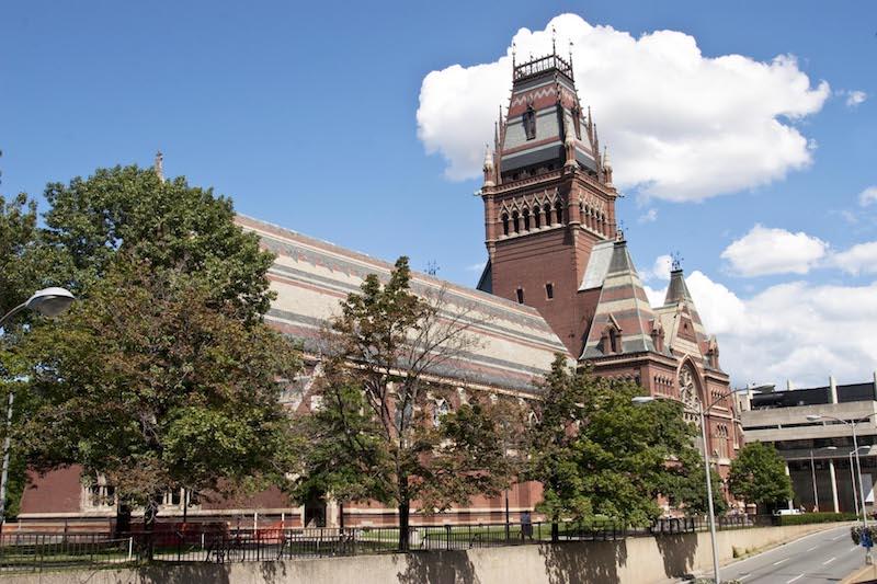 Harvard University Memorial Hall.