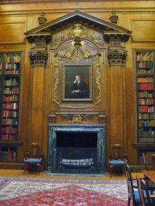 The Widener Room at Harvard University's Widener Library.
