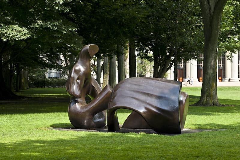 MIT sculture on campus.