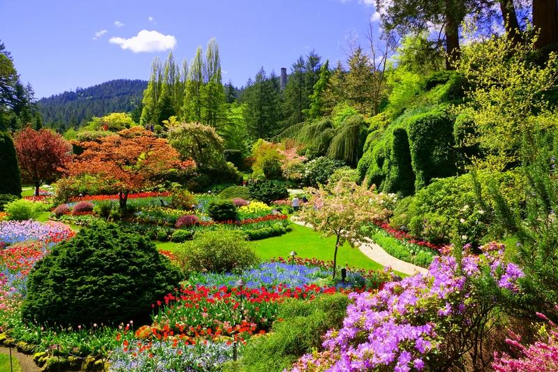 Butchart Gardens in Victoria, Canada.