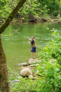Fly Fishing in Virginia.