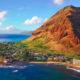 Western coast of the island of Oahu, Hawai'i