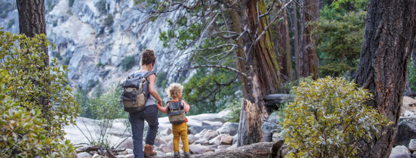 Hiking Yosemite National Park in California
