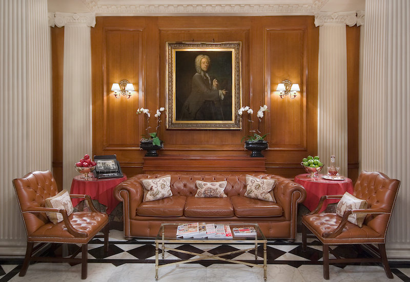 Lobby. Photo: The Chesterfield Mayfair