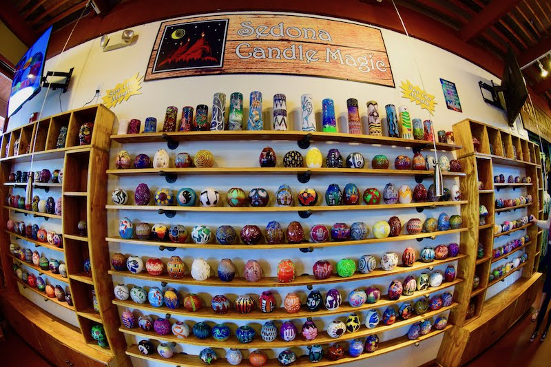 Sedona Candle Shop. Photo: Rina Nahdar
