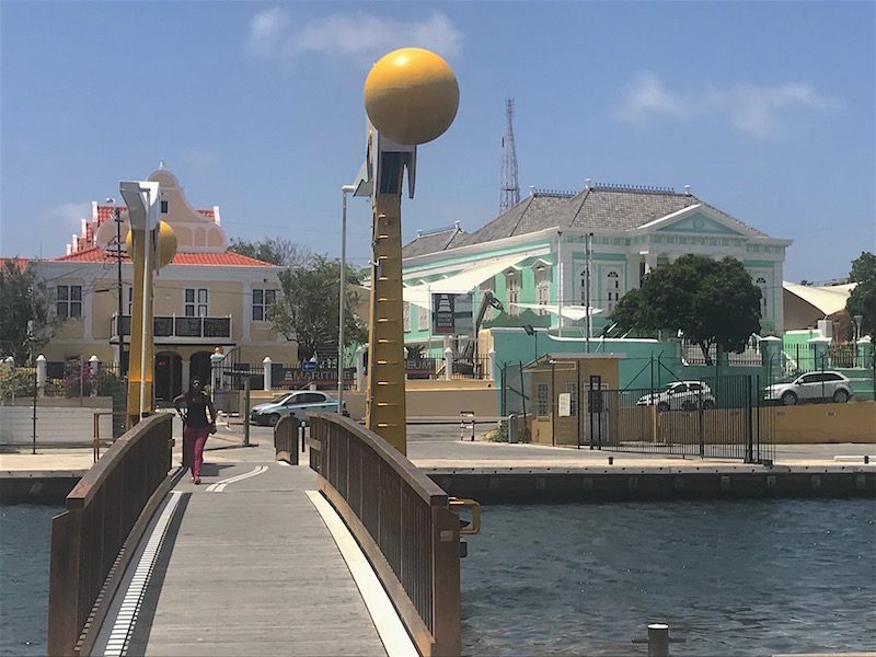 Curacao Willhemina Bridge.