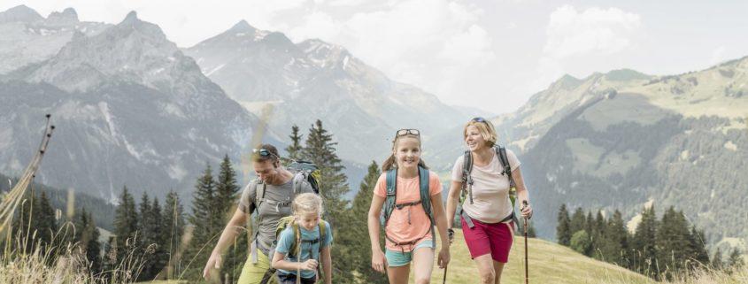 Hiking Gstaad, Switzerland