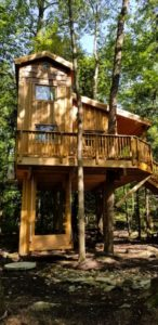 Treehouse exterior .