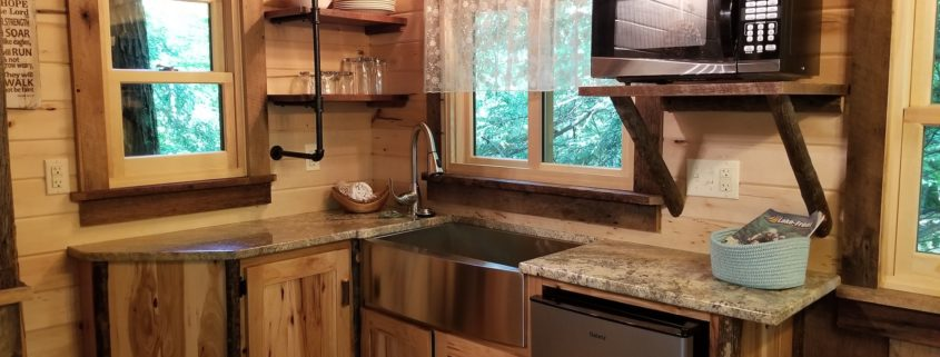 Treehouse kitchen.