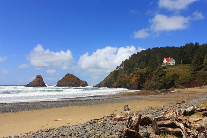 Heceta Ligthouse Keeper's House.