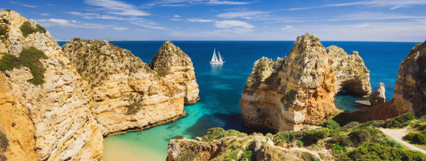 Beaches of Lagos, Portugal
