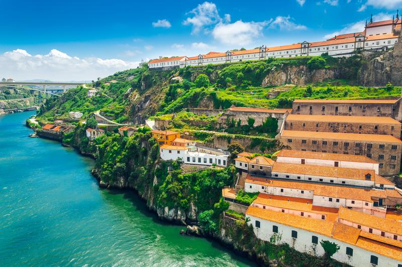 Porto, Portugal: Monastery of Serra do Pilar.