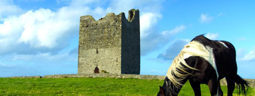 Easky Castle in Sligo, Ireland