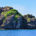 The rocks of Vomo Island in Fiji
