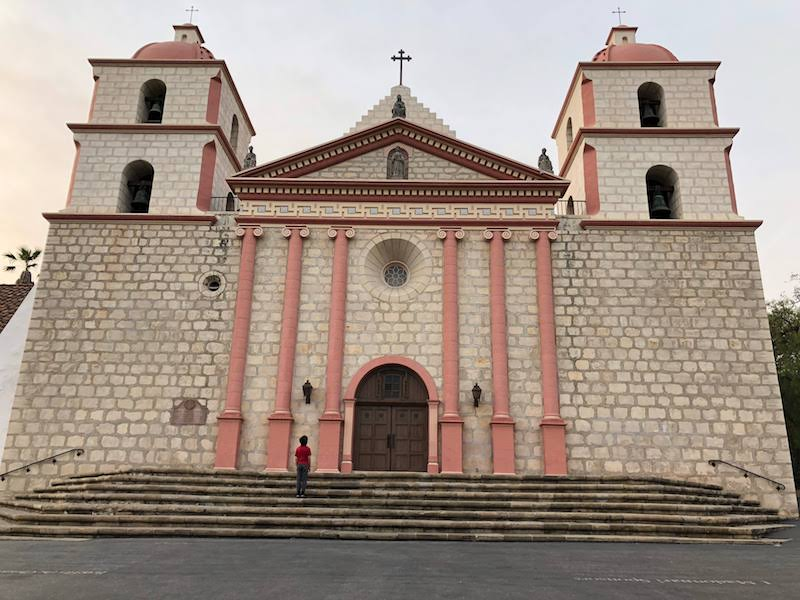 Old Mission Santa Barbara. Photo: Rina Nehdar