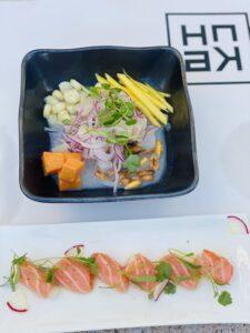 Acqualina Resort and Spa sushi