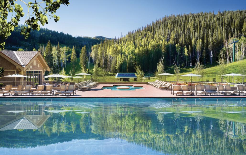 Pool Montage Deer Valley