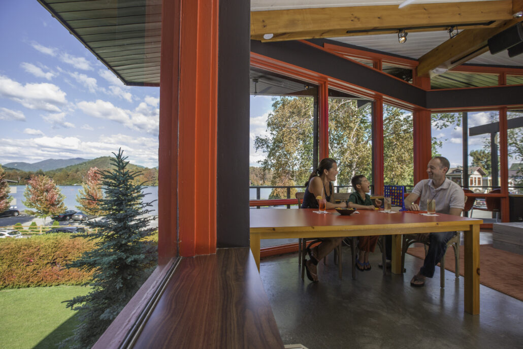 Lake House Resort at High Peaks.